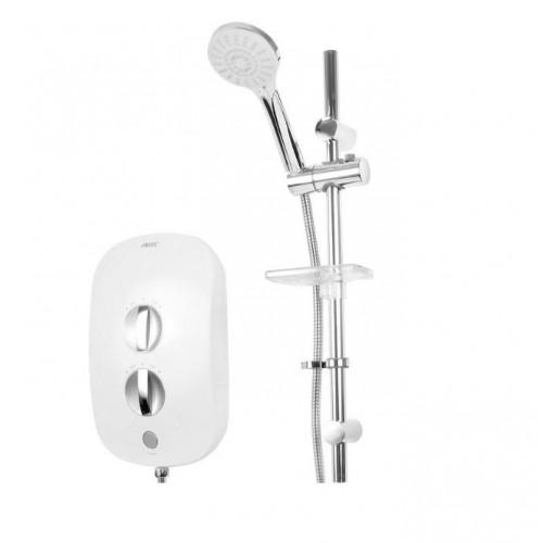 AKW iTherm Thermostatic Electric Shower, Standard Kit, 8.5kW
