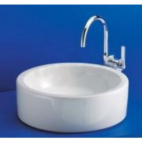 Ideal standard white 400mm vessel basin
