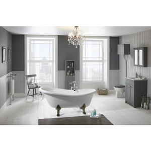 Frontline Norton Luxury Stone Resin Freestanding Bath