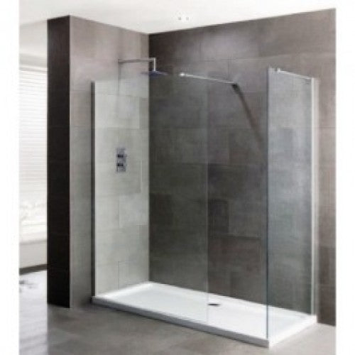 Gallini 10 1800mm x 750mm Walk In 10mm Shower Enclosure & Tray