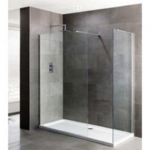 Gallini 10 1700mm x 800mm Walk In 10mm Shower Enclosure & Tray