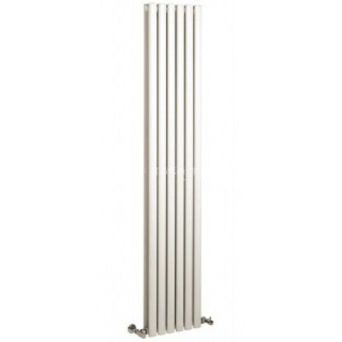 Hudson Reed Vertical White Double Panel Revive Vertical Radiator (1800 x 354mm)