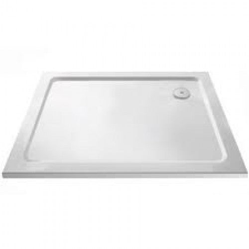 Premier Rectangular 1200 x 700 x 40mm Slimline Pearlstone Shower Tray