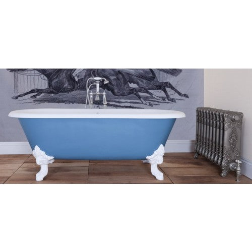 JIG Cartmel Cast Iron Roll Top Bath (1850x800mm) with Feet