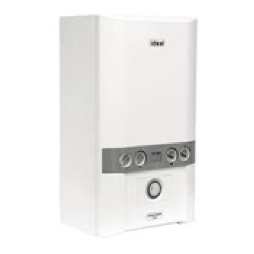 Ideal independent c 30kw condensing combi boiler & flue kit & timer