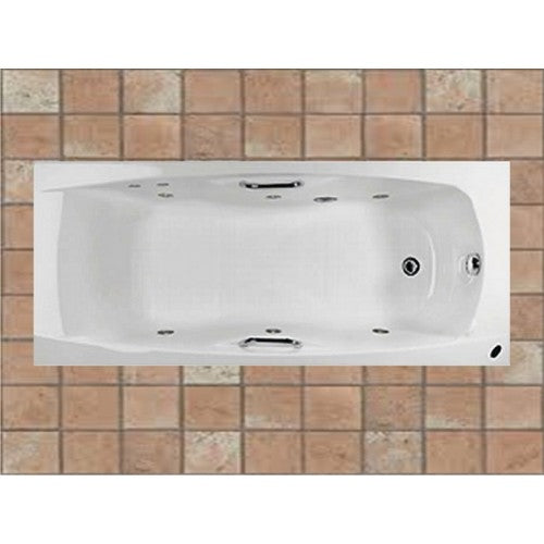 Carron Imperial Whirlpool Bath - Carronite