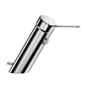 Delabie BIOSAFE mechanical basin mixer with no spout, H 95mm L.110mm With Pop Up Waste 26206