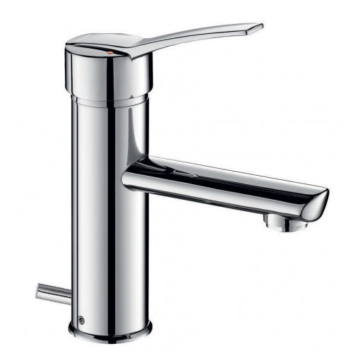 Delabie SECURITHERM EP BIOSAFE Removable pressure balancing basin mixer with pop up waste 2820TEP
