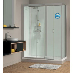 Kinedo Kinemagic Design Corner Installation Cubical Sliding Door 1400mm X 700mm