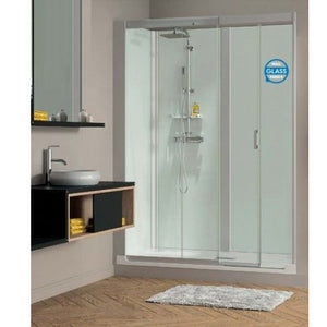 Kinedo Kinemagic Design Recess Installation Cubical Sliding Door 1400mm X 800mm
