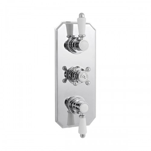 Old London Triple Concealed Thermostatic Shower Valve