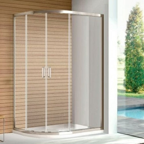 Bathroom Solutions Citylux Platinum Offset Quadrant 1000 x 800mm L/H