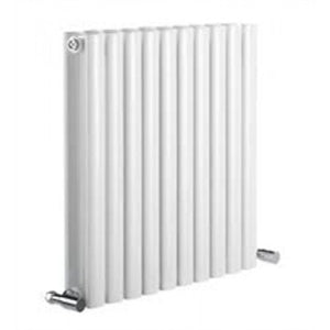 Reina Neva Double 550mm x 826mm White Designer Radiator.