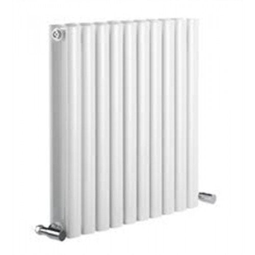 Reina Neva Double 550mm x 1180mm White Designer Radiator.