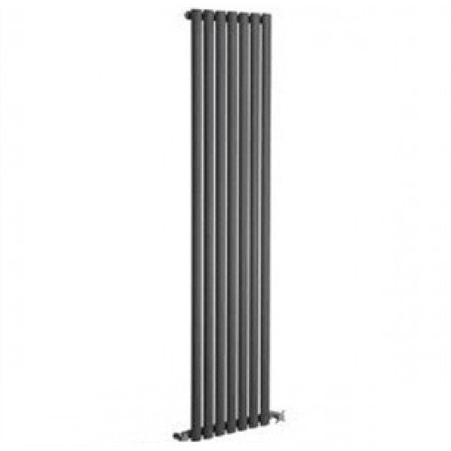 Reina Neva Single 1800mm x 413mm Anthracite Designer Radiator.