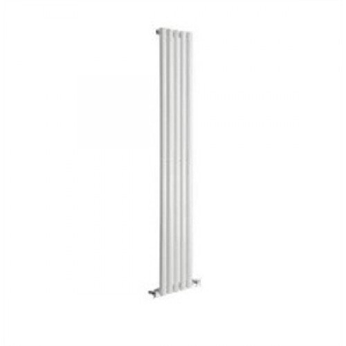 Reina Neva Single 1500mm x 413mm White Designer Radiator.