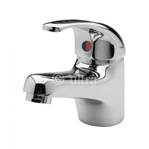 Ultra Eon Single Lever Mono Basin Mixer with Waste - Chrome - PF305