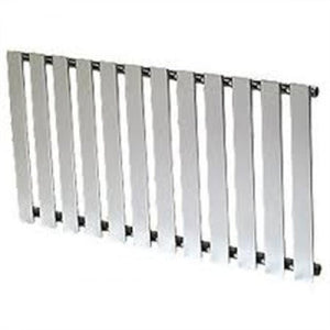 Reina Pienza 550mm x 825mm Chrome Designer Radiator.