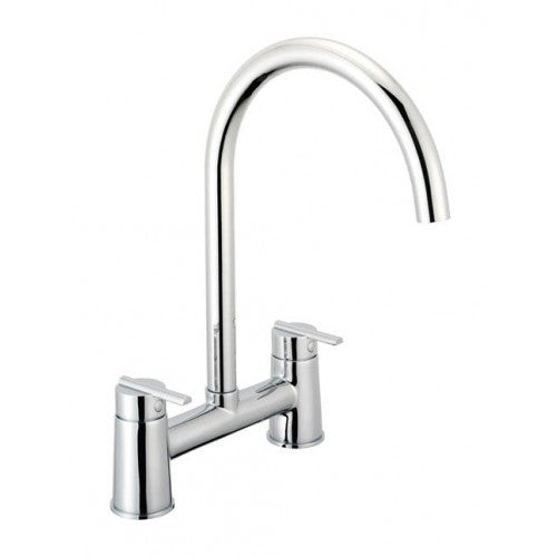 Pegler pulsar h pattern kitchen sink mixer - chrome