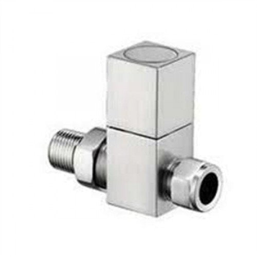 Reina Richmond Chrome Straight Radiator Valves.