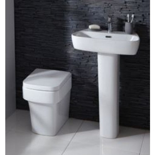 Frontline Medici Back to Wall Cloakroom Suite