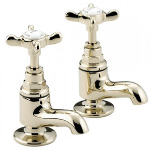 Bristan 1901 traditional Vanity basin taps GOLD N VAN G CD