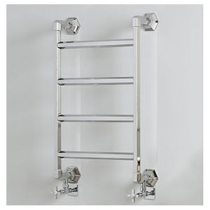 Vogue Art Moderne Wall Mounted Traditional Towel Rail 836 x 700mm