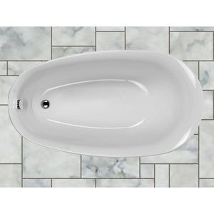 Carron Paradigm Bath Freestanding 1550mm with filler Carronite