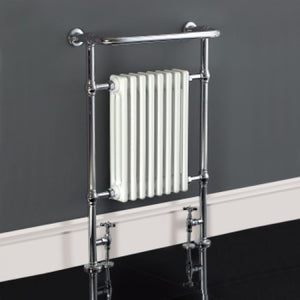 Phoenix York Traditional Pre-Filled All Electric Towel Rail 963mm x 673mm