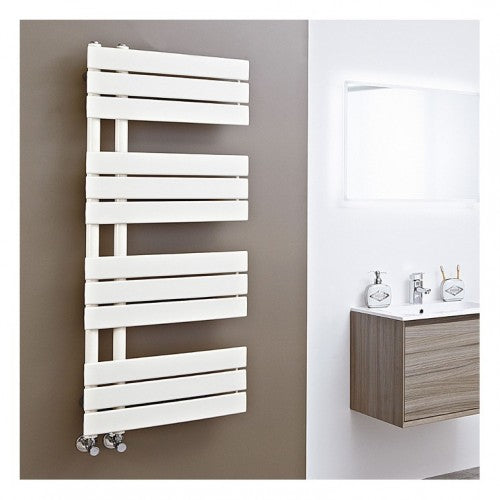 Phoenix Carla Electric Designer Radiator 1200 x 500mm - Latte