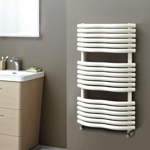 Phoenix Bow Radiator 1090mm x 520mm Latte