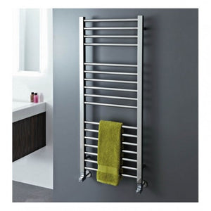 Phoenix Roscoe Stainless Steel Electric Towel Rail 1200mm x 500mm