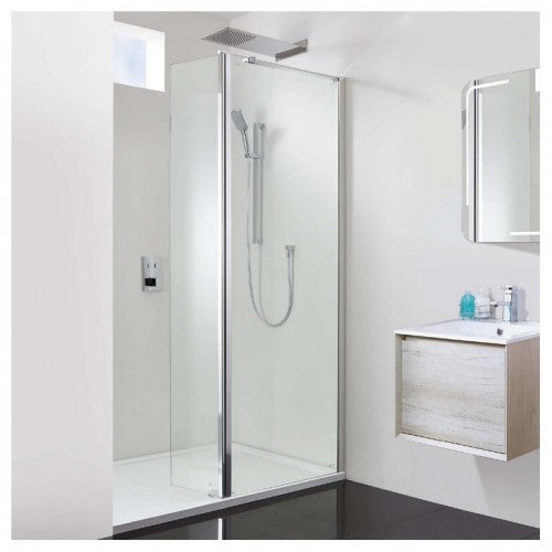 Phoenix Techno 10mm Complete Hinged Recess Walk-In Enclosure 1200 x 1200mm