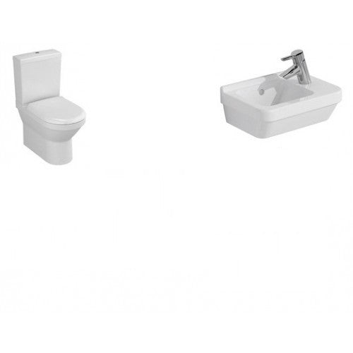 Vitra S50 Compact Close Coupled 3 Piece Suite