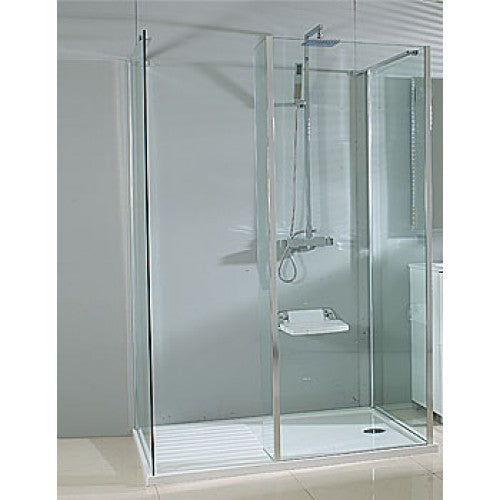 Phoenix Vision Single Wall Shower Enclosure 1600mm Pack-5 SEV005