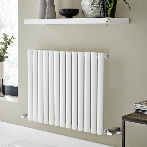 Kartell Aspen Single Horizontal Radiator 600 x 780 White