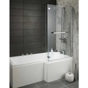 Alliance Skye Square L shaped shower bath Pack Right Hand