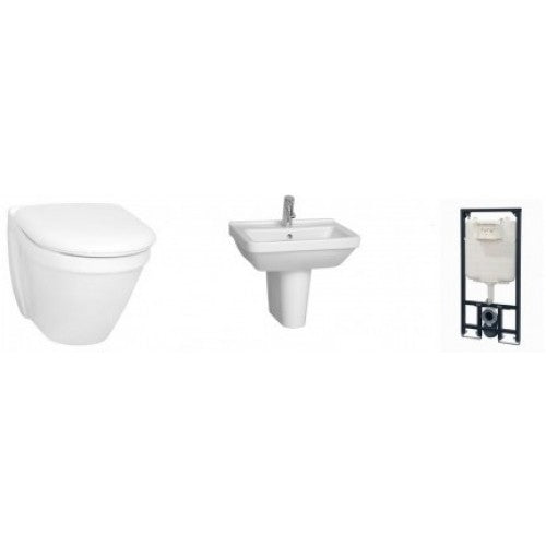 Vitra S20 Wall Hung 3 Piece Suite