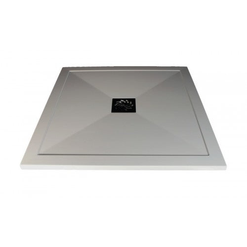 Mere ST25 Square Shower Tray with high flow waste 900mm