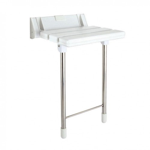 Phoenix Luxury Shower Seat with Stainless Steel Legs