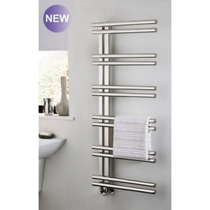 TRC Stratos Stainless Steel Heated Towel Rail
