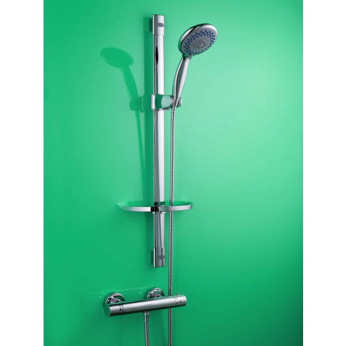 ALLIANCE STROMA THERMOSTATIC SHOWER VALVE & MULTI-MODE RISER RAIL KIT
