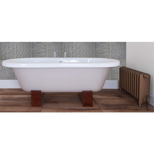 JIG Cranford Cast Iron Roll Top Bath (1800x820mm) with Feet