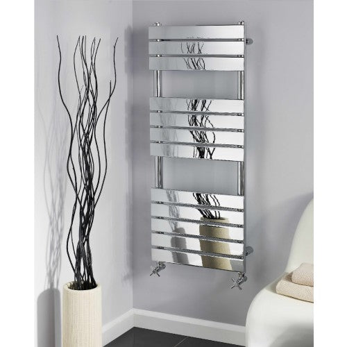 Alliance Troon 3 section Chrome towel warmer 1600mm