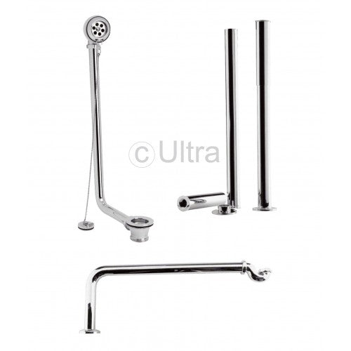 Ultra Luxury Roll Top Bath Pack Chrome EA368