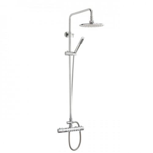 Ultra Thermostatic Bar Valve with Telescopic Slide Rail Kit With Free shower mounts