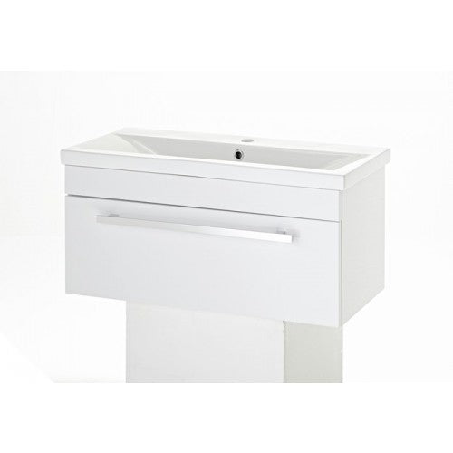 Premier Eden wall mounted Basin & Cabinet 800mm