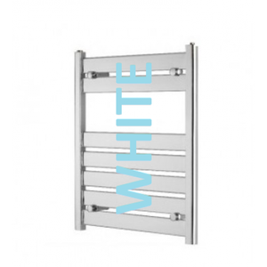 Eastbrook Staverton 600mm x 400mm towel rail - White