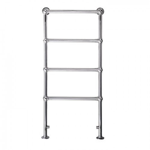 Cotswold windrush 1195mm x 600mm traditional towel rail - chrome