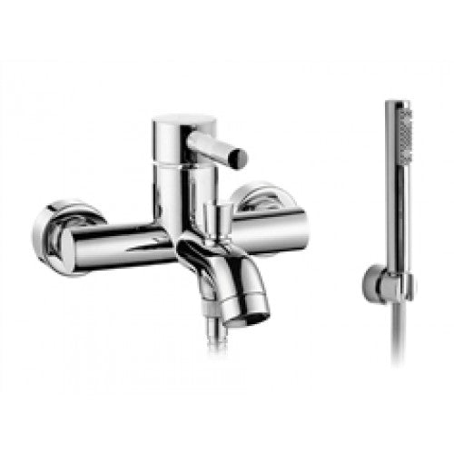 Vado zoo wall mounted bath shower mixer & kit
